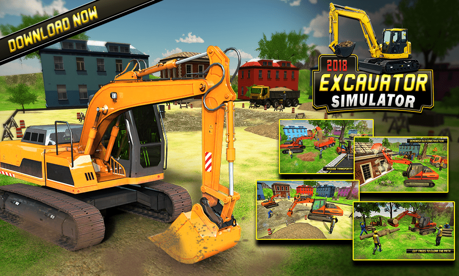 Easy to Play Hard to Become Excavator Simulator