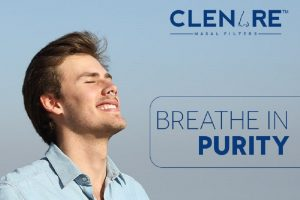 How can nasal air filters assist allergic rhinitis