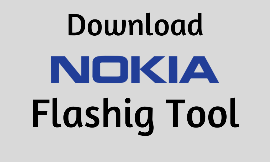 Nokia Flash Tool For PcWindows