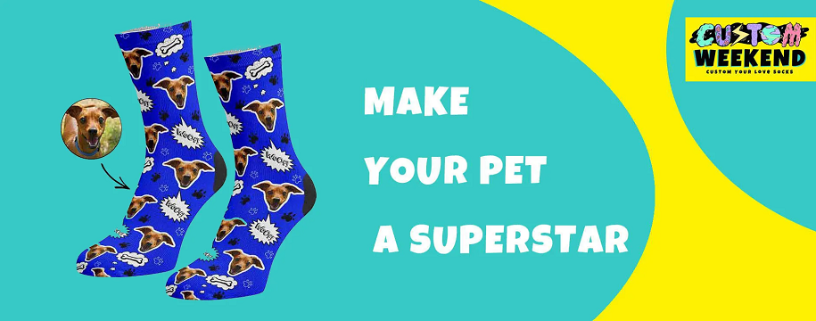 Create The Best-customized Socks Using Your Dog Picture