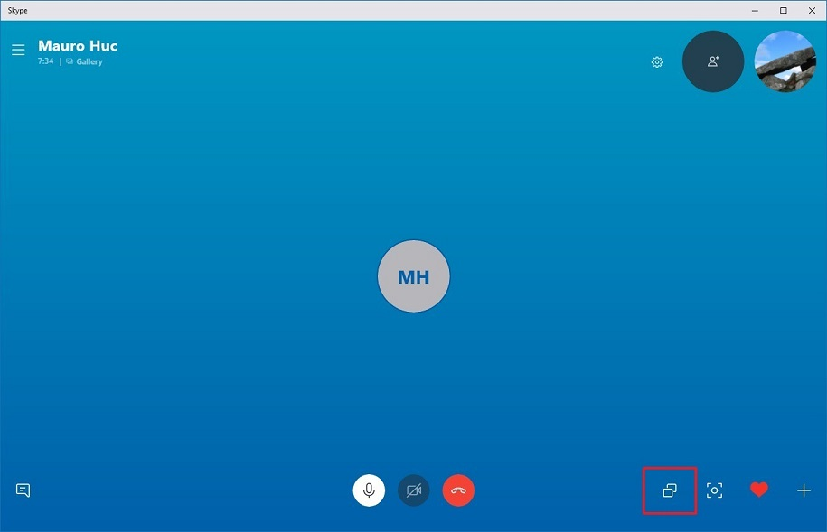 How to Enable Screen Sharing on Skype