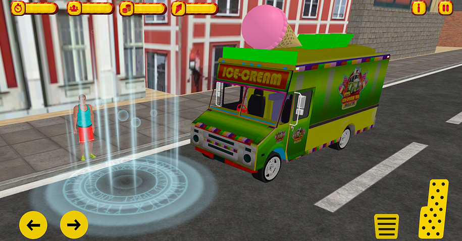 How Summer Ice Cream Delivery Van Different from Other Games?