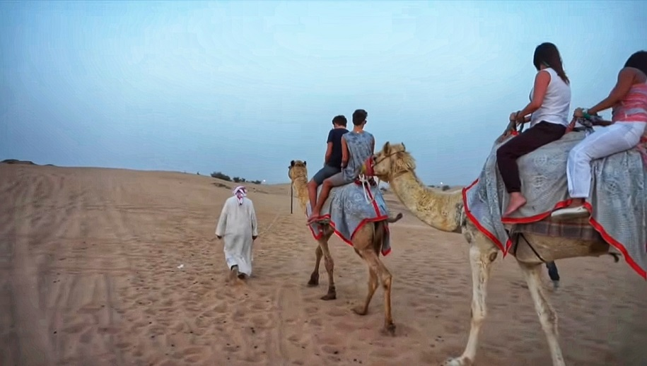 The Rush of Morning Desert Safari in Dubai