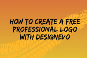 How to Create a Free Professional Logo with DesignEvo