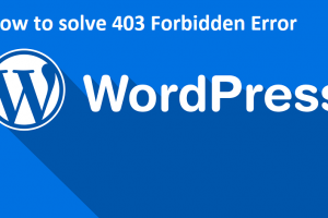 What does a 403 Forbidden WordPress Error Mean and How to solve it