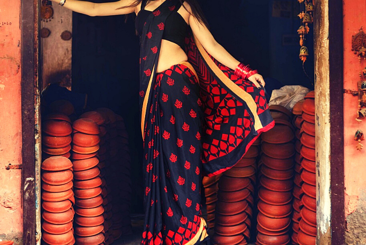 Add Glamour For Every Different Occasion Party Wear Saree