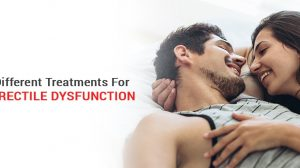 Different Treatments For Erectile Dysfunction