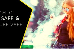 Quit Smoking - Switch to the Safe and Secure Vape