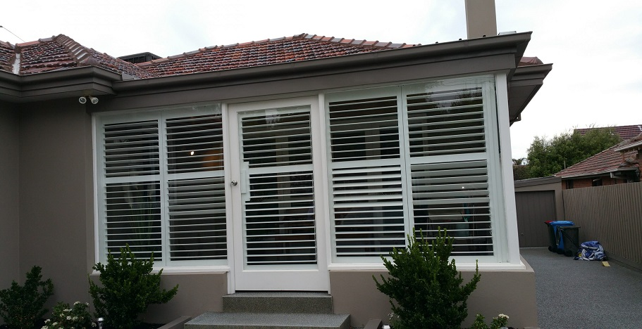 The Plantation Shutters Create An Environment For Any Room