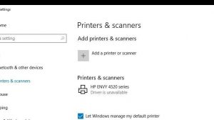 How To Get Hp Printer Drivers Available From Unavailable