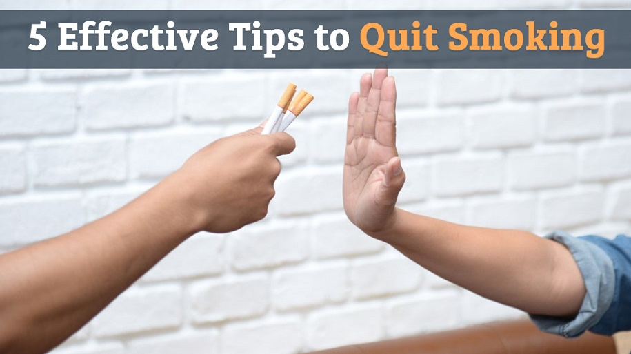 Must Read Top 5 Effective Tips to Quit Smoking