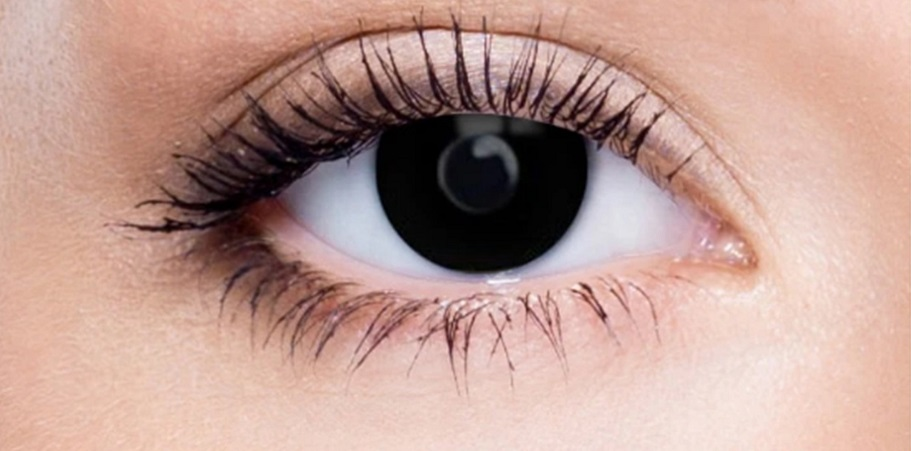 How to Wear Mini Black 17mm Contact Lenses