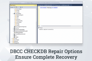 Does the DBCC CHECKDB Repair Options Ensure Complete Recovery